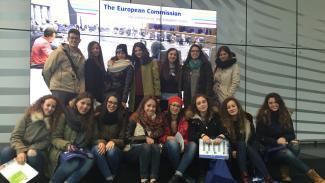 Viaggio Commissione europea.